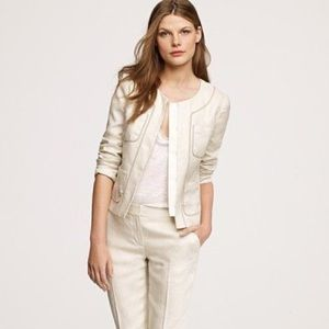 J. Crew Conference Jacket in Linen